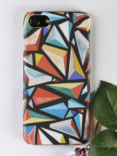 Image of Colorful Geometric Pattern Protective Phone Case For Iphone