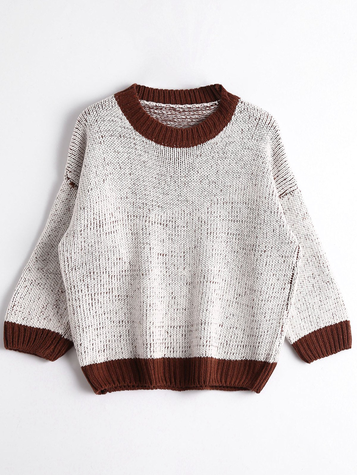 Crew Neck Chunky Sweater 227123301