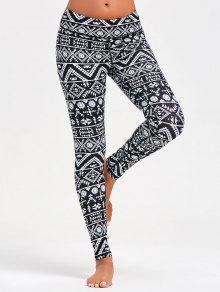 5be836670ebf2f Geometric Pattern Leggings for Running; Geometric Pattern Leggings for  Running ...