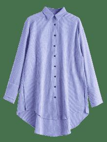 Flojas Las Alta Floja Raya Rayas Camisa De S wqxAHESI