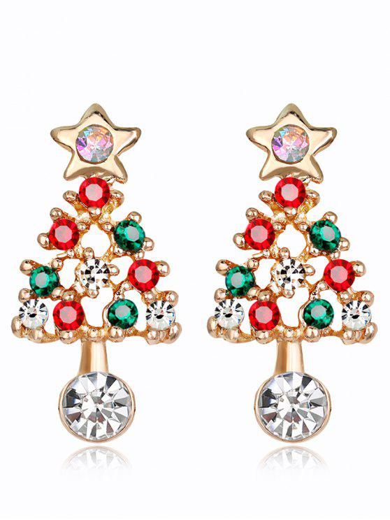 with created crystals swarovski earrings christmas com jewelry tree dp amazon dangle