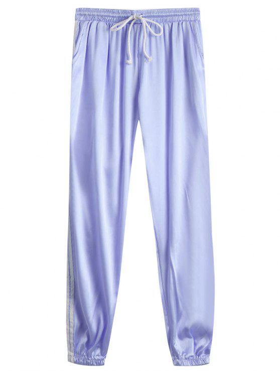 Pantalones deportivos brillantes deportivos de tirantes - Delphinium S