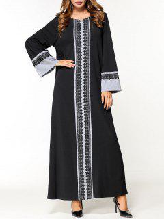 Robe Arabe Aiguille - Noir 2xl