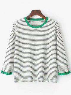 Striped Knitted Top - Stripe