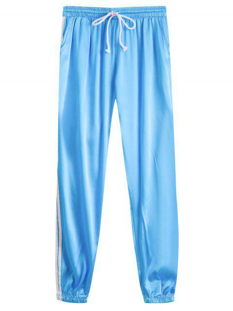 Pantalons sportifs sportifs brillants Drawstring - Pers S Mobile