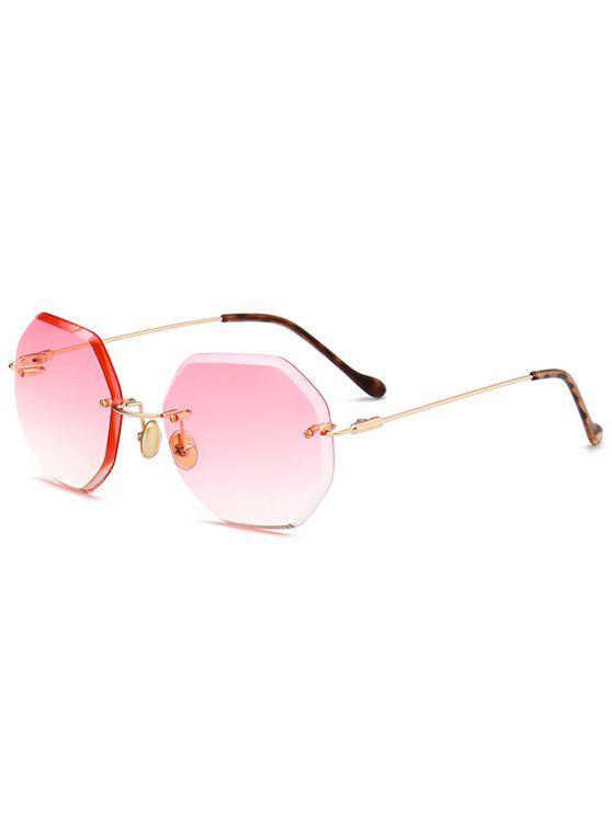جولة السداسي أومبير النظارات بدون إطار - بابايا