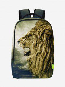 3D حقيبة الظهر طباعة الأسد - بالومينو