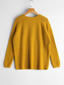 Raglan Sleeve Bowknot Sweater YELLOW: Sweaters ONE SIZE | ZAFUL