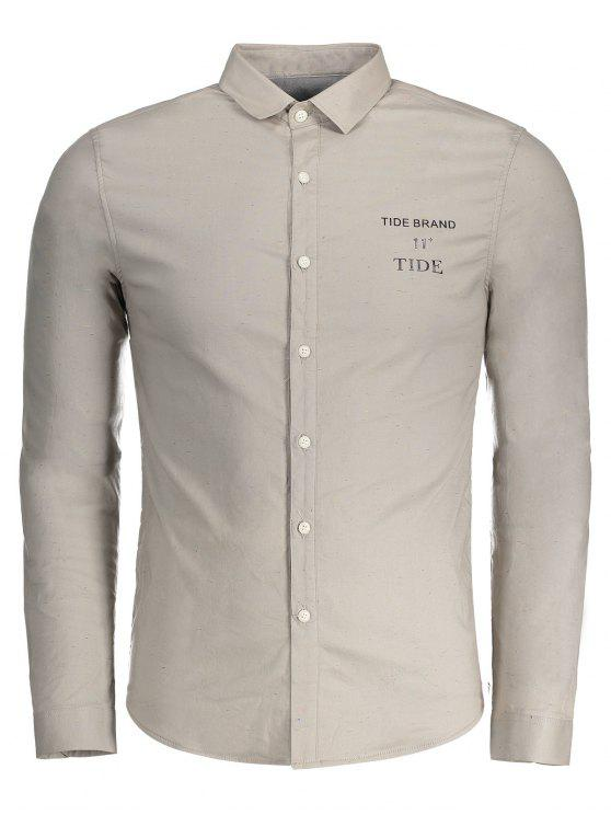 ladies Tide Graphic Flocking Shirt - GRIEGE XL