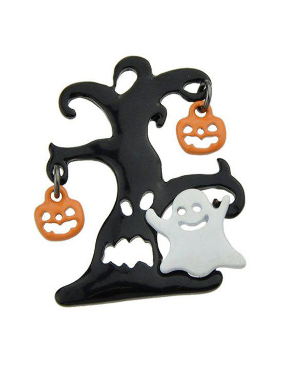 Halloween Diable Pumpkin Tree Ghost Brooch - Multicolore