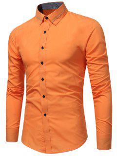 Collar De Cuello De Pene - Naranja 2xl