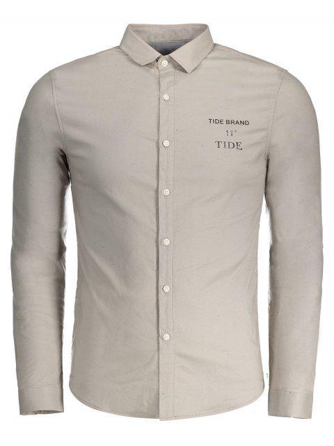 ladies Tide Graphic Flocking Shirt - GRIEGE XL Mobile