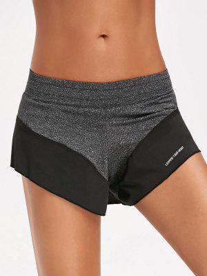 Sportliche Doppelschichte Shorts