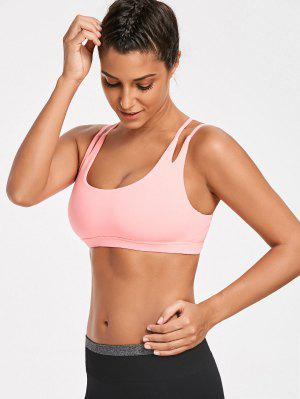 High Impact Strappy Back Sporty Bra