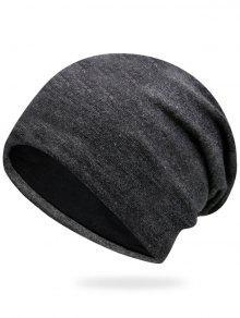 عادي الخريف حك قبعة - الرمادي العميق