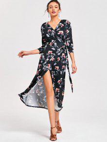 Mediados De Vestido De Vestido Floral De Ternero - S