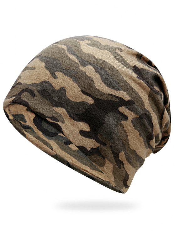 women Outdoor Camouflage Pattern Slouchy Beanie - JUNGLE CAMOUFLAGE