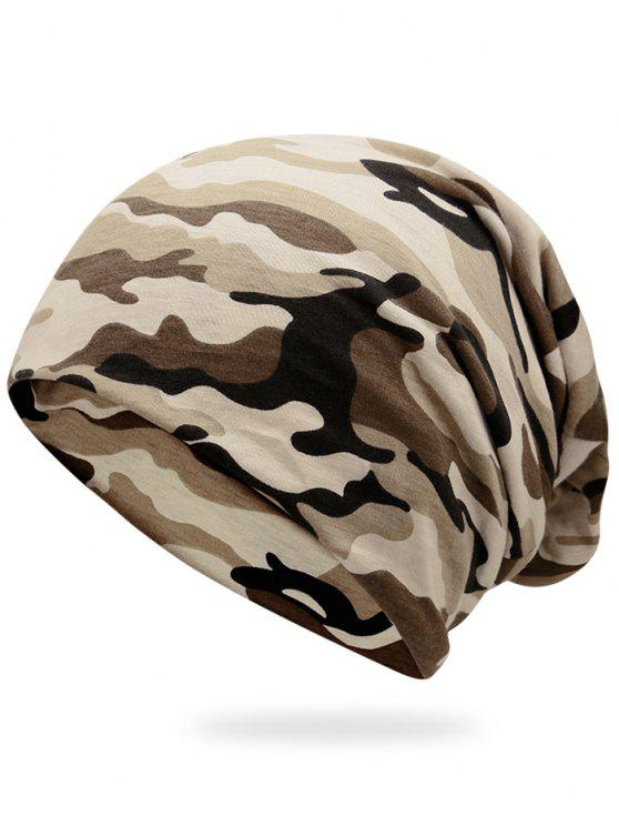 ladies Outdoor Camouflage Pattern Slouchy Beanie - FG CAMOUFLAGE