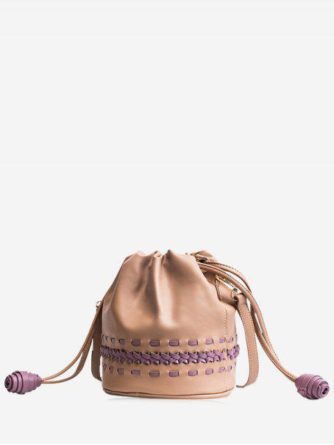 Sac à bandoulière Braid Drawstring - Kaki  Mobile