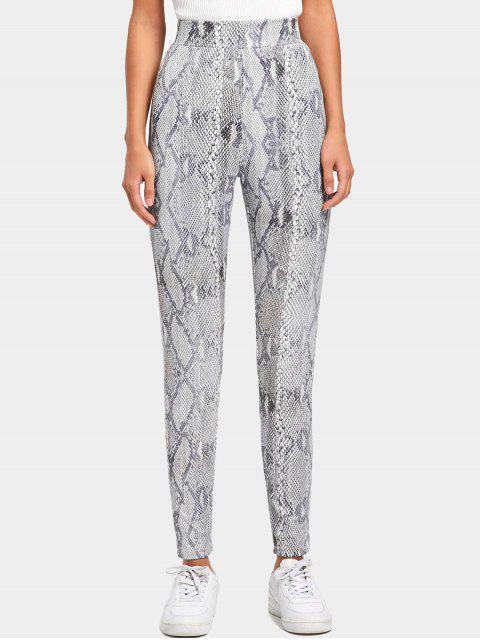 Pantalones de piel de serpiente - Colormix M Mobile
