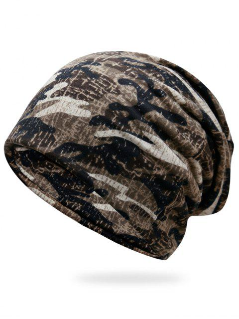 sale Outdoor Camouflage Pattern Slouchy Beanie -   Mobile
