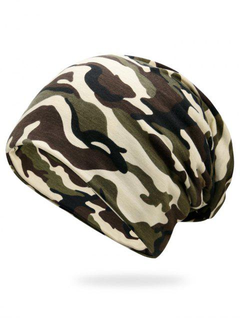 affordable Outdoor Camouflage Pattern Slouchy Beanie -   Mobile