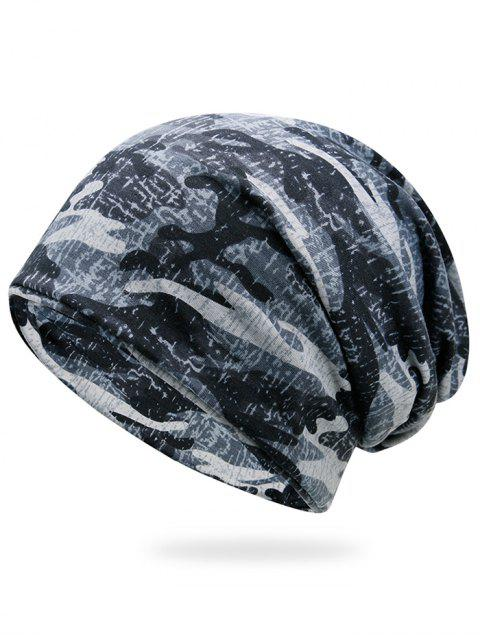 womens Outdoor Camouflage Pattern Slouchy Beanie -   Mobile