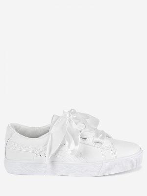 Low Top Ribbon Sneakers
