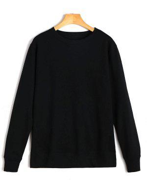 Freizeit Schlichtes Sweatshirt