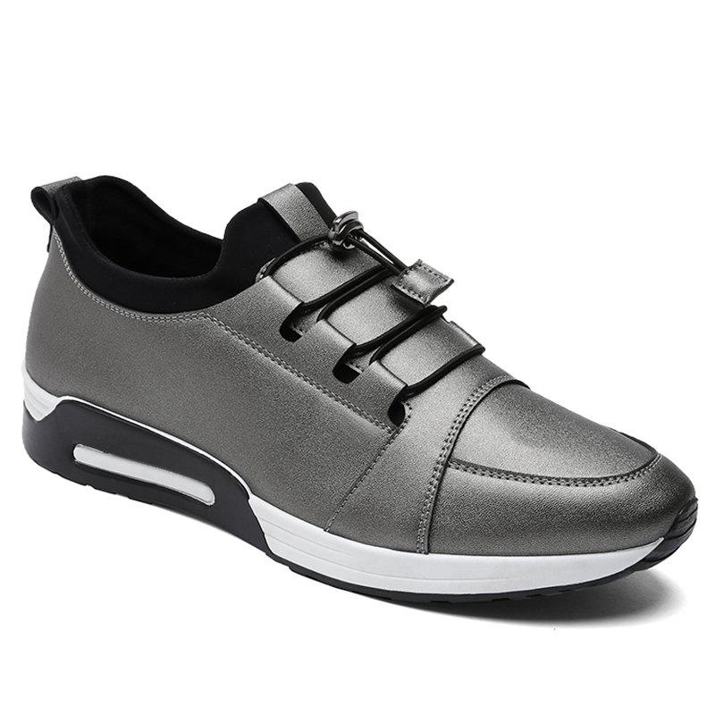 Faux Leather Low Top Casual Shoes 227348914
