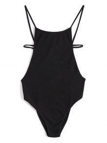كريسس الصليب عارية الذراعين محبوك ارتداءها - أسود M