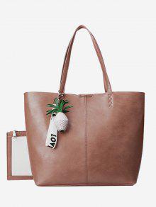 الأناناس قلادة حقيبة حمل مجموعة - حجاب