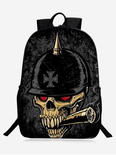 sale Stylish Skull Backpack -   Mobile