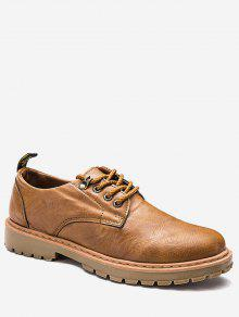 Zapatos De Tacón Alto Con Encaje - Amarillo 44
