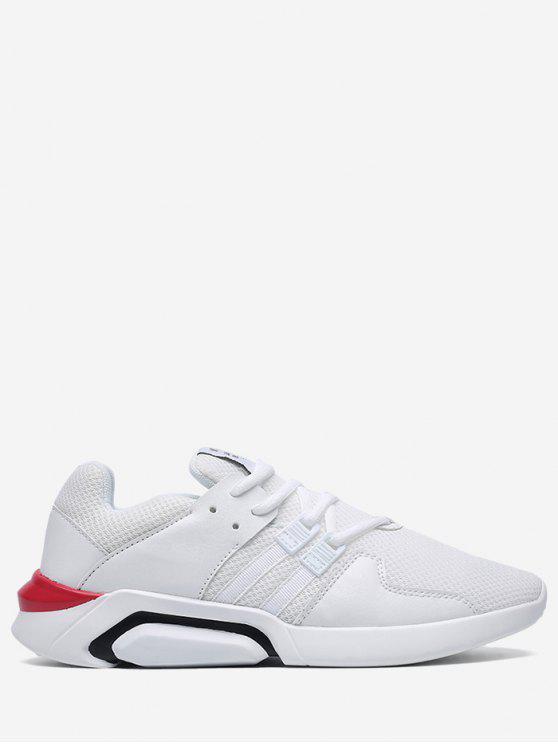 Chaussures Athlétiques En Maille WHITE BLACK WHITE BLACK GOLD