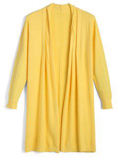 Cardigan Long  - Jaune