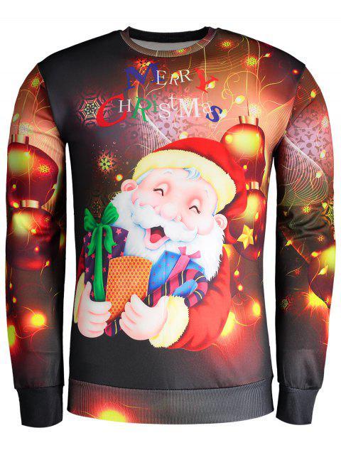 women Printed Christmas Sweatshirt - COLORMIX L Mobile
