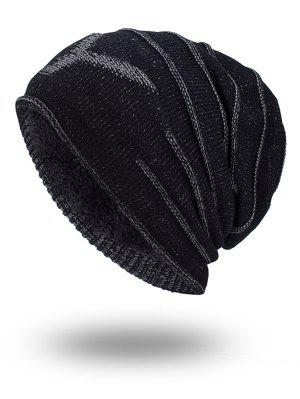 Doble-cubierta Thicken NY Knit Hat