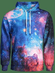 Galaxia La Xl Hombre De Hoodie Colorido Para qAvwvFX