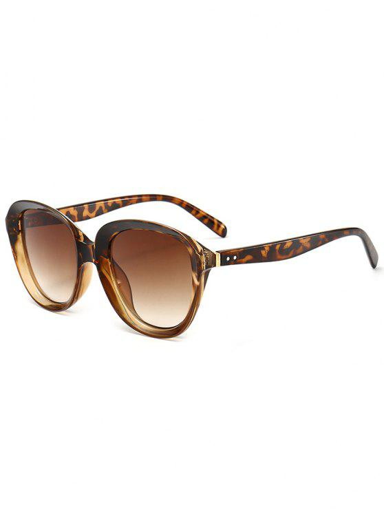 Gafas de sol anti UV para llantas - Leopardo marrón