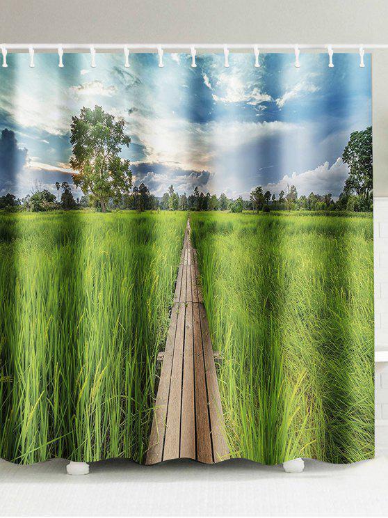 بادي، الحقل، صور الطبيعة، إقتدى، إستحمام، كورتين - Colormix W71inch*L79inch
