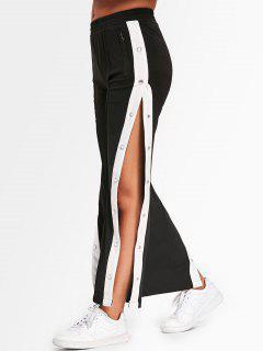 Pantalones De Color - Negro M