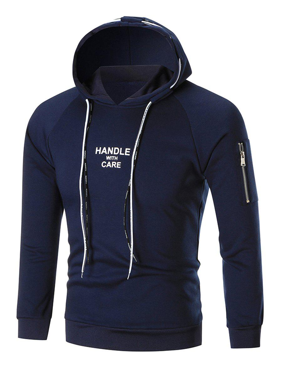 Image of Double Drawstring Graphic Hoodie