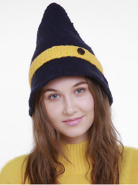 Sombrero punky del sombrero del mago punky de Halloween - Azul Marino   Mobile