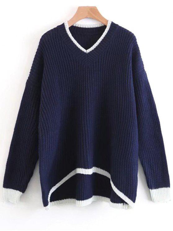 Chunky Oversized Sweater DEEP BLUE: Sweaters ONE SIZE   ZAFUL