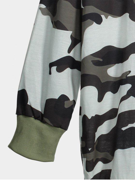 Ras CamouflageXl Sweat Long Cou Du shirt y80wOvnPmN