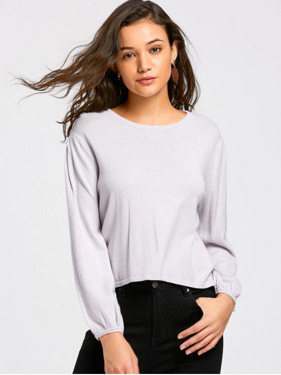 Knitwear Cosy Plain - Grigio S