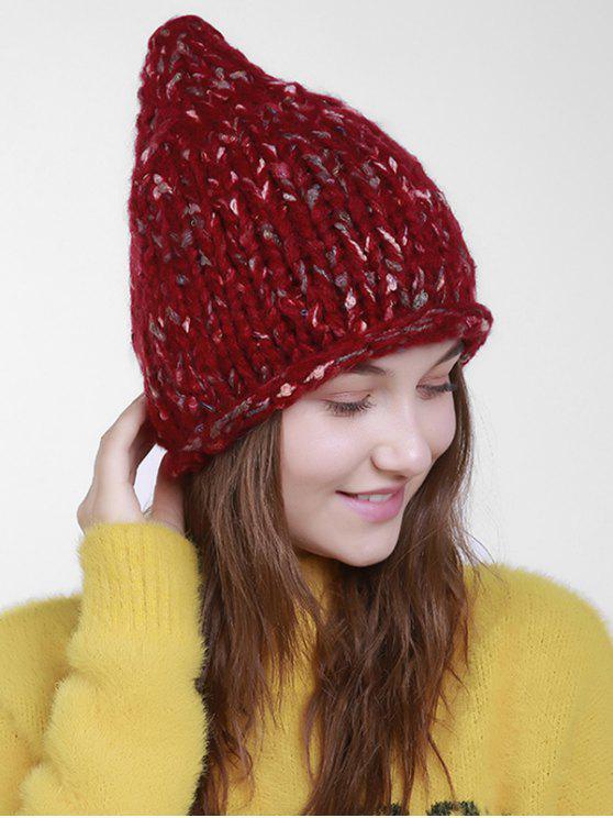 Outdoor Häkeln Slouchy Knited Beanie Rot: Hüte | ZAFUL