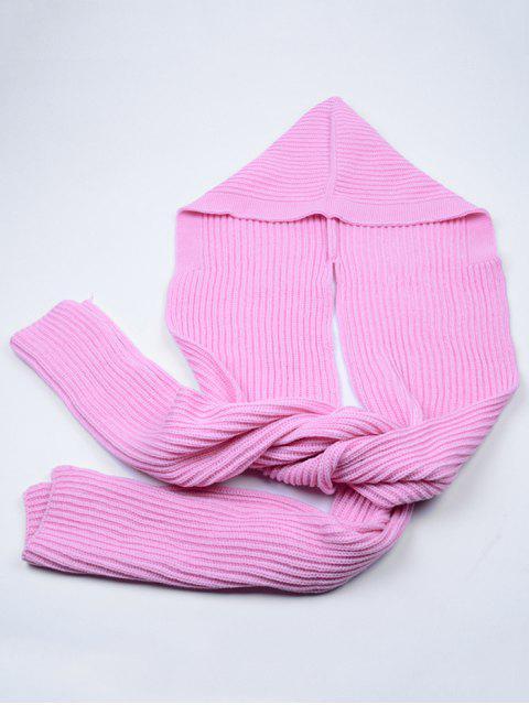 Bufanda larga con capucha al aire libre - Papaya  Mobile