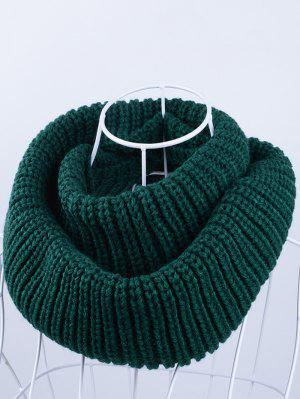 Outdoor Chunky Infinity Knitted Scarf